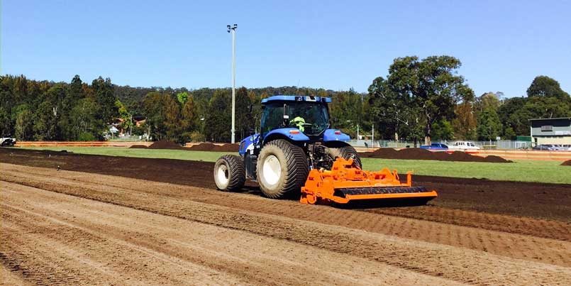 RENOVATING FIELDS WITH GO PREMIUM COMPOST